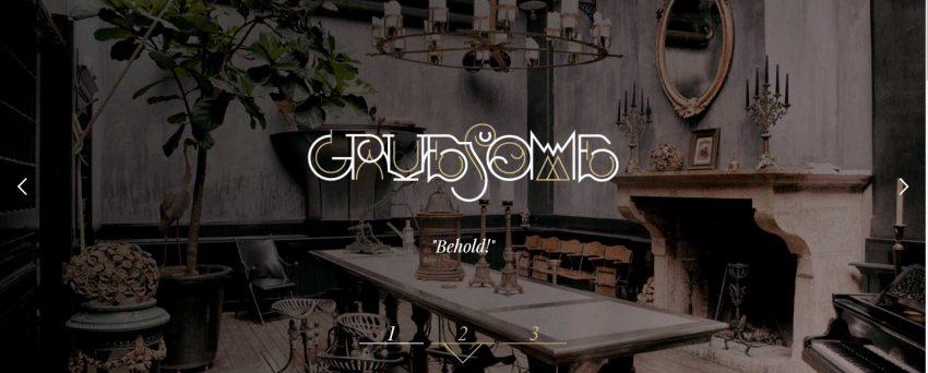 gruesome design site image